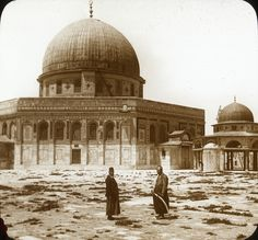 Rotskoepel. The Dome of the Rock, ca. 1915 does't look so Holy then, maybe it was only after the Jews returned that they wanted it as a Holy sight!