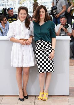 Anais Demoustier and Valerie Donzelli. See all the best looks from the 2015 Cannes Film Festival.