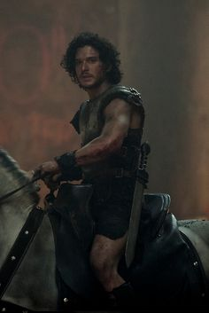 Kit Harington as Milo in Pompeii by blanche Kit Harington, Jon Snow, Iwan Rheon, Jessica Lucas, Hbo Tv Series, Actor Quotes, Epic Movie, Band Of Brothers, Black Sails