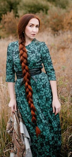 Beautiful Braids, Beautiful Long Hair, Gorgeous Hair, Long Red Hair, Super Long Hair, Girl Hairstyles, Braided Hairstyles, Plait, Braids For Long Hair