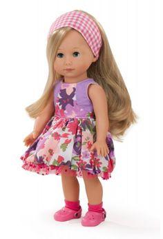 Götz Puppenmanufaktur Puppe Just like me Mia 27 cm blonde Haare blaue Augen