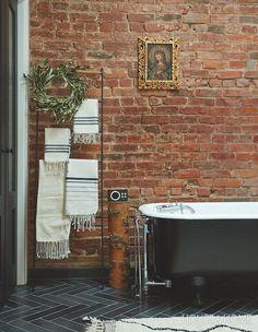 Vote For House & Home's Best Bathroom Of Heritage Bathroom, Bathroom Goals, Rustic Bathrooms, Home Comforts, Interior Decorating, Interior Designing, Decorating Ideas, Bathroom Renovations, Quebec