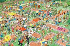 Jan van Haasteren Holiday 2 in 1 1000 Piece Jigsaw Puzzle