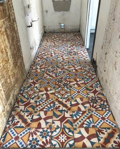 "Antique and Encaustic Tiles on Instagram: ""Mornings @_theclaybarn are as exciting as Zani's new floor! A new studio with a new floor in progress. Thanks Zani! Love hanging out with…"""