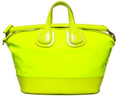 Neon Yellow | ... Kind of Purse Is That? » Givenchy-Neon-Yellow-Medium-Nightingale-Bag