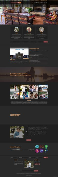 Bed and Breakfast #website theme. A perfect #weebly theme, 15 colors, 3 theme types, fully responsive.