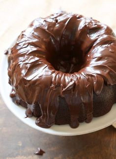 Best Chocolate Bundt Cake