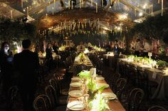I half expected Dumbledore to give a speech before dinner. Photo: Andrew Toth/Getty Images