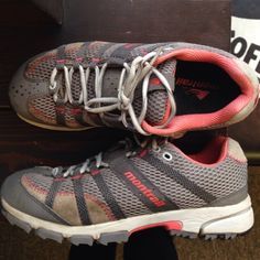 Montrail hiking shoes Great shape on these gently used montrail integrafit shoes. Size 8 Montrail Shoes Athletic Shoes