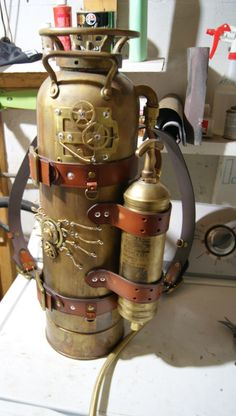Hey all working on Steampunk based armour still very raw! So far I have chest armour,shoulders,helmet,gauntlets,and. Steampunk Cosplay, Steampunk Weapons, Steampunk Gadgets, Steampunk Gears, Steampunk Clothing, What Is Steampunk, Style Steampunk, Steampunk Design, Steampunk Fashion