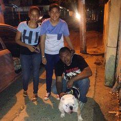 Photo taken by @capo.bulldogvzla on Instagram, pinned via the InstaPin iOS App! (06/03/2014) Bella Familia los adoro