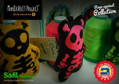 Rage against Pollution - Monsterfelt Project  Safil PolyKing 40