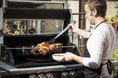 The cooler temperature range makes cooking outdoors more enjoyable, I look forward to celebrating Easter with friends and loved ones while cooking barbie. Outdoor Oven, Outdoor Cooking, Greek Easter, Easter Lamb, Be Proud, Bbq, Barbie, Food, Style