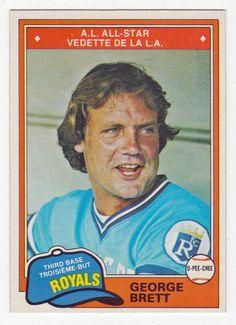 George Brett # 113 - 1981 O-Pee-Chee Baseball