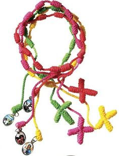 Really like these rosary bracelets.  Had one from Puerto Rico, but I worn it out.
