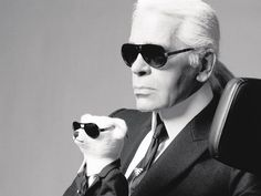 Karl Lagerfeld | TOP Fashion Designers of all time http://www.mydesignweek.eu/top-fashion-designers-of-all-time/#.VIsOyzGsXkU