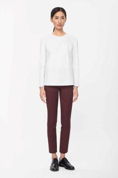 COS   Slim cotton trousers