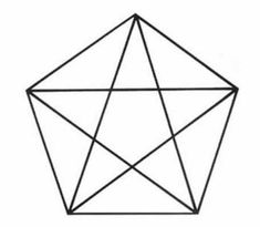 Raciocínio é importante para os jogadores de poker. Vamos treinar!  Quanto triângulos você vê na imagem?  Dessa vez bem mais complicado.