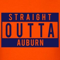 And proud of it. War Eagle.