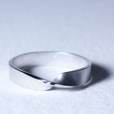 Mobius Eternity Ring - these will be our wedding bands  :)  A truly never-ending circle