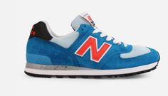 Whether it be running or just hanging with friends, the New Balance 574 National Parks (Blue/Orange) will keep your shoe game on lock. Hanging With Friends, New Balance 574, Blue Sneakers, Shoe Game, Blue Orange, Red And White, National Parks, Footwear, Running