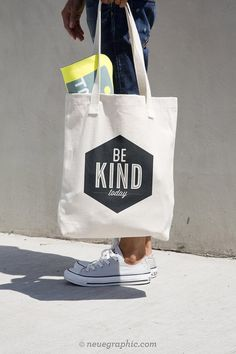 Be Kind Today Tote Bag