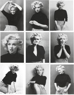 Marilyn Monroe! A classic beauty