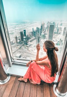 highest view in the world - Burj Khalifa.