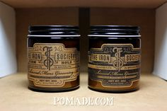 Pomade. #theironsociety #firm #oldfashioned