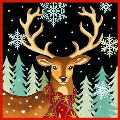 Deer Close Up by Jennifer Brinley | Ruth Levison Design