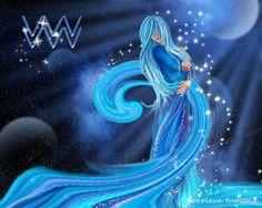 Woman Aquarius - Desktop Nexus Wallpapers