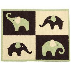 "Carter's Green Elephant Rug - Carters - Babies ""R"" Us"