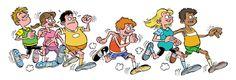 hardlopen tekening - Google zoeken