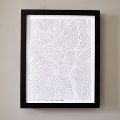 Los Angeles City Print 11x14 now featured on Fab.