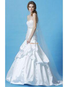 Okouzlijící & dramatický Bez rukávů Šerpy / Stuhy Levné svatební šaty