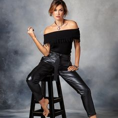 #migliojewellery #alchemycollection #migliostyle Leather Skirts, Leather Pants, Designer Jewellery, Jewelry Design, Short Tops, Short Skirts, Collections, Jewels, Shorts