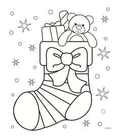 Christmas Stocking Coloring Page - Free Christmas Recipes, Coloring Pages for Ki. Christmas Stocking Coloring Page - Free Christmas Recipes, Coloring Pages for Kids Coloring For Kids, Coloring Pages For Kids, Colouring Pages, Coloring Books, Santa Coloring Pages, Coloring Pages Winter, Printable Christmas Coloring Pages, Free Christmas Printables, Free Printables
