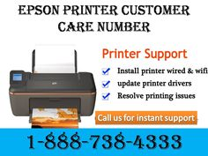 Dial Epson Printer customer care number 18887384333 to take the help of experts to solve printer issues.