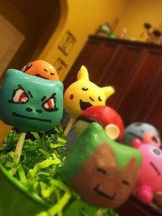 Nicole's Sugary Sweet Boutique        Pokemon Cakepops! https://www.facebook.com/nicolesugarysweetboutique/ #nicolesugarysweetboutique #Cakepops #pokemon