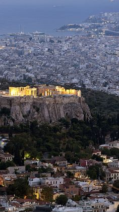 Acropolis of Athens, Greece. More scenic Greece http://scenic-calendars.com/greece-calendars.htm