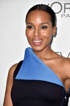 Actress Kerry Washington arrives at ELLE's 21st Annual Women In Hollywood at Four Seasons Hotel Los Angeles at Beverly Hills on October 20, 2014 in Beverly Hills, California.