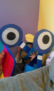 Mo Willems - awesome Pigeon headband - cardstock to stay stiff? (Puddles and Mud)