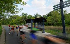 Bike to work on the nation's first bicycle freeway, the Cedar Lake Trail