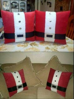 Christmas Projects, Christmas Home, Christmas Tree Ornaments, Holiday Crafts, Christmas Decorations 2017, Christmas Tablescapes, Christmas Cushions, Christmas Pillow Covers, Bazaar Crafts