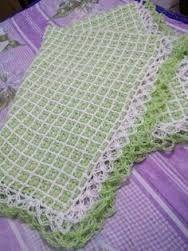 Resultado de imagen para www paso a paso puntadas de crochet para cobijas de bebe