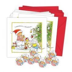 O Dennenboom - Bobbi beer kerstkaarten Illustraties Monica Maas