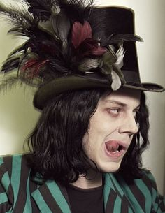 Jack White: i totally love this musician.  Saw him live last month in Chattanooga.  Why do I kinda have a crush on him?