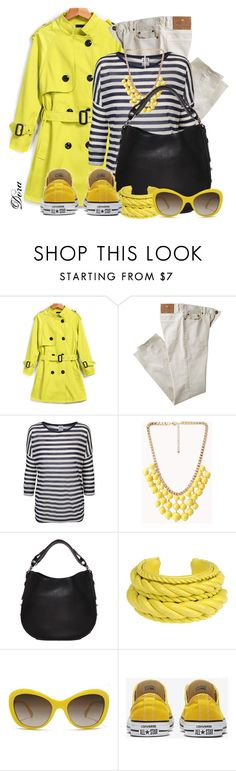 """""""Yellow trench"""" by doradabrowska ❤ liked on Polyvore featuring Etro, Vero Moda, Forever 21, Givenchy, Natalia Brilli and D&G"""