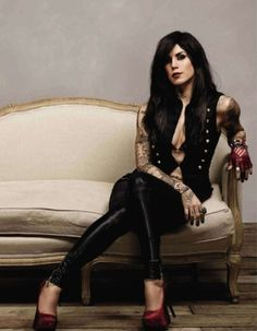 Kat Von D is so awesome! <3