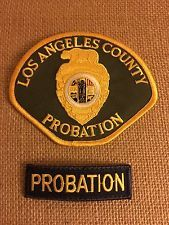 Los Angeles County Probation Officer Patches